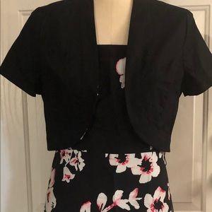 Fashion Bug women's dress with cardigan